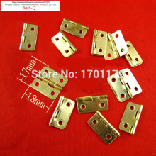 Free shipping 3/4 inch rounded box hardware accessories hinge small hinge metal hinge wooden gift