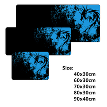 Classic Black large gaming dragon mouse pad gamer grande MOUSEPAD for cs go dota 2 wow LOL league of legend 6 sizes