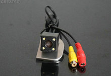 Car HD CCD rear view Camera back up reverse camera For Ford Focus 2012 with 4LED for GPS car dvd player Waterproof Shockproof(China)