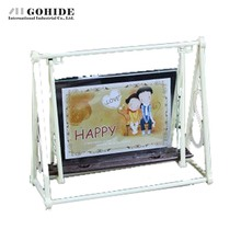 DUH Cartoon Baby Swing Rectangle Shape Photo Frame 5 6 7 Inche Optional Double Faced Lovers Stereo Photo Frame Plastic Cheap