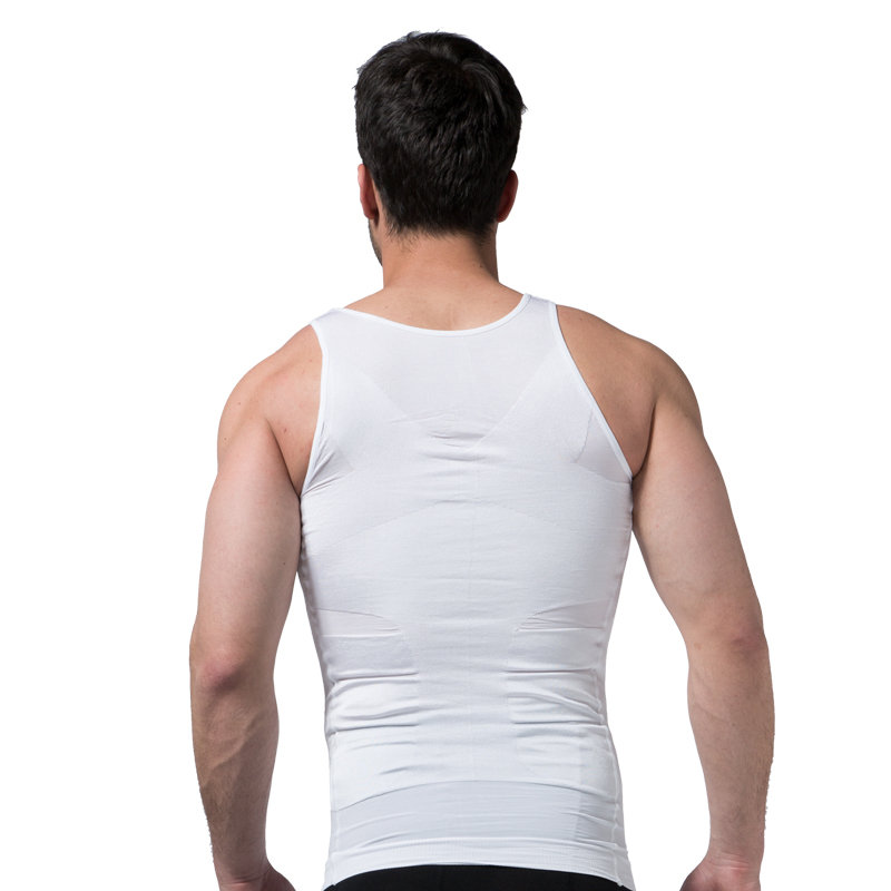 Men Slimming Underwear Body Shaper Waist Cincher Corset Men Shaper Vest Body Slimming Tummy Belly Waist Slim Body Shapewear 9