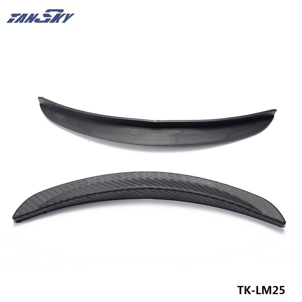 "TANSKY -1 Pair 10"" Carbon Texture Diffuser Fender Flares Lip For Toyota Wheel Wall TK-LM25"