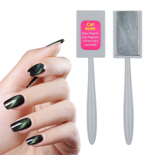 New Strip Magical Magnet Stick For Cat Eye Gel Polish Nail Art Manicure Tool 3D Effect New Free Shipping