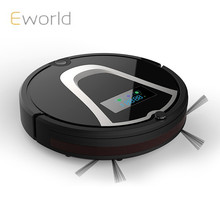 Eworld M884  Robot Vacuum CleanerAutomatic Floor Cleaning ,Robot Mop Scrub Vacuum Cleaner Wet and Dry Cleaning Auto Charge