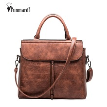 Hot sale brand design PU Leather women bags vintage luxury leather handbag Fashion trendy Bags star style Shoulder Bag WLHB1477