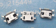 100pcs/lot  free shipping  micro usb connector 5pin charging port  for many mobile and tablet and other products