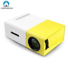 MINI YG300 LCD Projector 600LM Home Media Player For Video Games TV Home Theatre Movie Support HDMI AV SD(China)