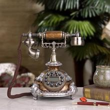 The old European style of the ancient home phone manufacturers selling antique telephone office telephone