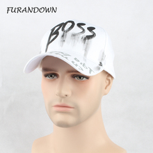 New Unisex White Baseball Caps Hip Hop Snapback Fashion Hats Letter Print Cap Hat For Men Women