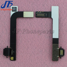 10pcs/lot High quality Dock Charger Charging Port Connector Flex Cable For iPad 4 Ribbon Replacement parts Free shipping