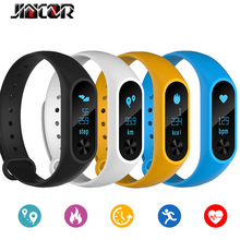 Buy JINCOR M2 Fitness Tracker Bracelet Smart Heart Rate Monitor wristband IP67 Waterproof Smart Band PK Fitbits mi band 2 for $16.67 in AliExpress store