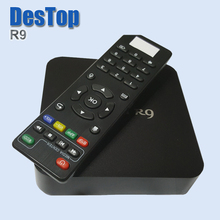 MX R9 4K Android TV BOX Quad Cortex-A7 Mali-400 GPU 1GB DDR3 8GB NAND Flash  Android 4.4 Support TV 15.2 player or above
