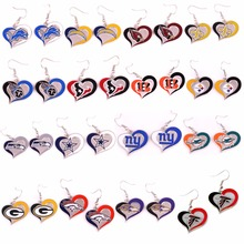 Lions Chargers Cardinals saints Titans texans Bengals Steelers Seahawks Cowboys Giants dolphins Packers Broncos Ravens Earrings
