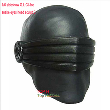 1/6 G.I. Joe Snake Eyes Head Sculpt B Model with Visor Sideshow Collectibles New Fit 12 Inch Phicen Action Figure(China)