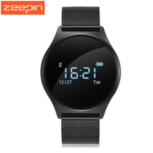 Zeepin M7 Round Bluetooth Smart Watch Life Waterproof Blood Pressure/Heart Rate Monitor Sport Smart Wristband for Android IOS