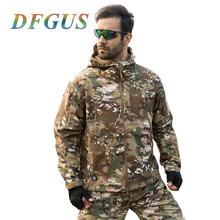 Lurker Shark Skin Softshell V4 Military Tactical Jacket Men Waterproof Windproof Warm Coat Camouflage Hooded Camo Army Clothing - DFGUS Store store