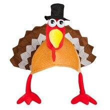 Divertido Turquía sombreros Feliz Día de Acción de Gracias de la decoración  del Partido de tapas dropship   N05 a90888dc96e