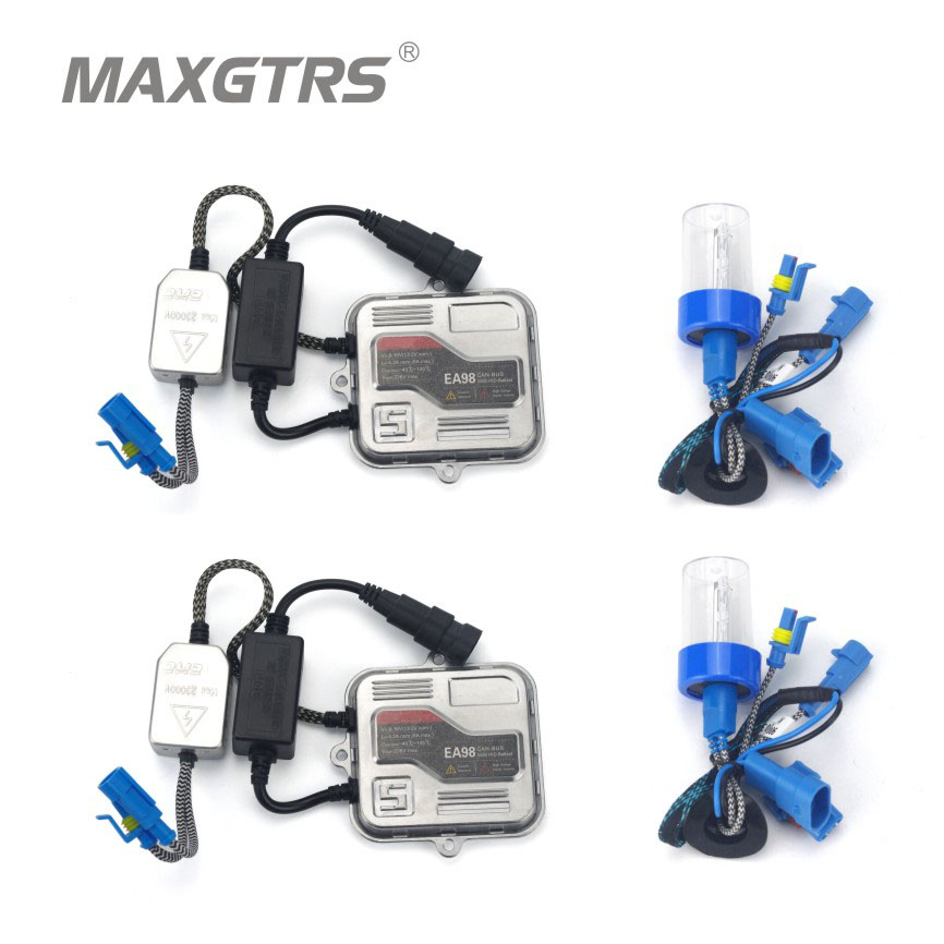 Car Headlight Fog Light Canbus No Error 55W H1 H3 H4 H7 H8 H11 9005 9006 Hi Lo Xenon White 5500K Bulb HID Ballast With EMC DRL<br>