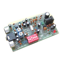 Diy kit BH1417F FM stereo transmitter Board Kit electronic production 1417 FM transmitting board of DIY parts