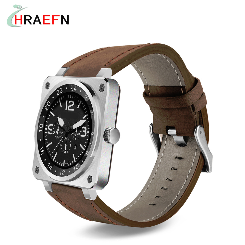 Hraefn Smart Watch US18 reloj inteligente mtk2502c Smartwatch heart rate monitor Sports bluetooth wristwatch IOS android