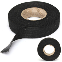 1pc Wiring Harness Tape Strong Adhesive Cloth Fabric Tape For Looms Cars 19mm x 15M
