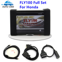 Newest FLY100 For Honda Scanner Full Version  FLY 100 Full Function Key Programming + Odometer Correction + Diagnostic Tool
