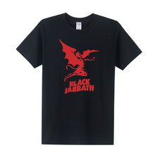 Summer New Heavy Metal Tee Shirts Men Black Sabbath T Shirt Cotton Short Sleeve Casual Men T-Shirt  FreeShipping XS-XXXL OT-189