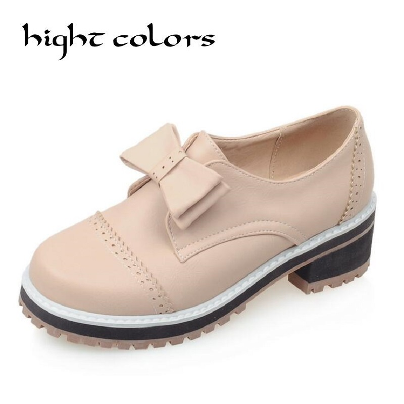 2017 Big Size Ladies Spring/ Autumn Leisure Low Heel Shoes Women Sweet Bowtie Solid Shoes For Girls Women Flat Loafers Shoes<br>