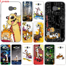 The Complete Calvin and Hobbes Hard Case Cover for Samsung Galaxy A3 A5 J3 J5 J7 2015 2016 2017 & Grand Prime Note 2 3 4 5