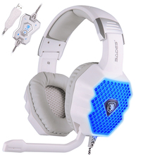 A70 7.1 Virtual Surround Sound USB Stereo Gaming Headphone Headset With Microphone Six Color Breathing Lights