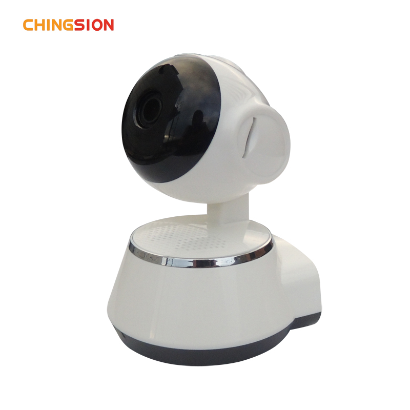 Chingsion Wireless Camera P2P IP Camera Support TF Card Indoor Surveillance Camera Night Vision Motion Detection<br>
