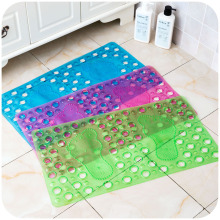 67.8*36.5cm Color PVC Shower Mats Anti-slip Eco Friendly PVC Bathroom Kitchen Floor Rug Pad Foot Massage Mats SK760