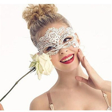 6 Style Option Venetian Party Mask Anonymous Sexy Masks Masque Lace Black Eye Face Masks Masquerade Mardi Gras Mask Halloween