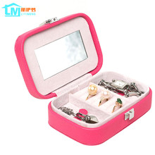 Jewelry Storage Organizer Packaging Box Casket Box For Jewelry Exquisite Makeup Case Jewelry Container Graduation Birthday Gift(China)