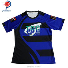 oem custom made sublimation rugby jerseys(China)