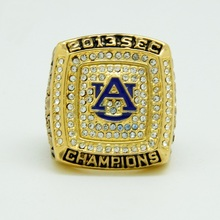 2013 Auburn Tigers Football National Championship Rings, sports fans rings, men ring