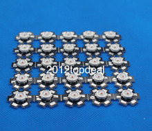 2 5 10 20 50 100pcs 1w 3w Deep Red 660nm ~ 665nm EPILEDS LED Light Bulb Part Diode For Plant Grow With 20mm Star