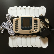 New JR309 Health Care Electrical Muscle Stimulator Massager Tens Acupuncture Therapy Machine Slimming Body Massager 16pcs pads(China)