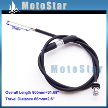 Gas Throttle Cable For Chinese 49cc 50cc 70cc 90cc 110cc Engine Carburetor Carb Kids Mini Baby Quad 4 Wheeler ATV(China)