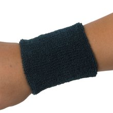 1x Headband and 2x Elastic Wrist bands for Sports - Dark green