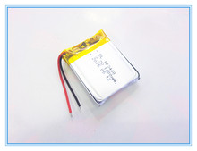 Free shipping 3.7 V 103440 lithium-ion polymer battery 1400 mah vehicle traveling data recorder LED speakers toys