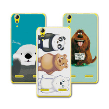 "Buy New Style! Bear Carton coque Lenovo A6010 5.0"" case cover Colorful funda LENOVO A6010 6010 Cover Case for $1.35 in AliExpress store"