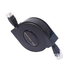 Wholesale! New 2M 250 MHz Grand Cat 6 Gigabit Ethernet Retractable Network Cable Ethernet Cables FOR PC