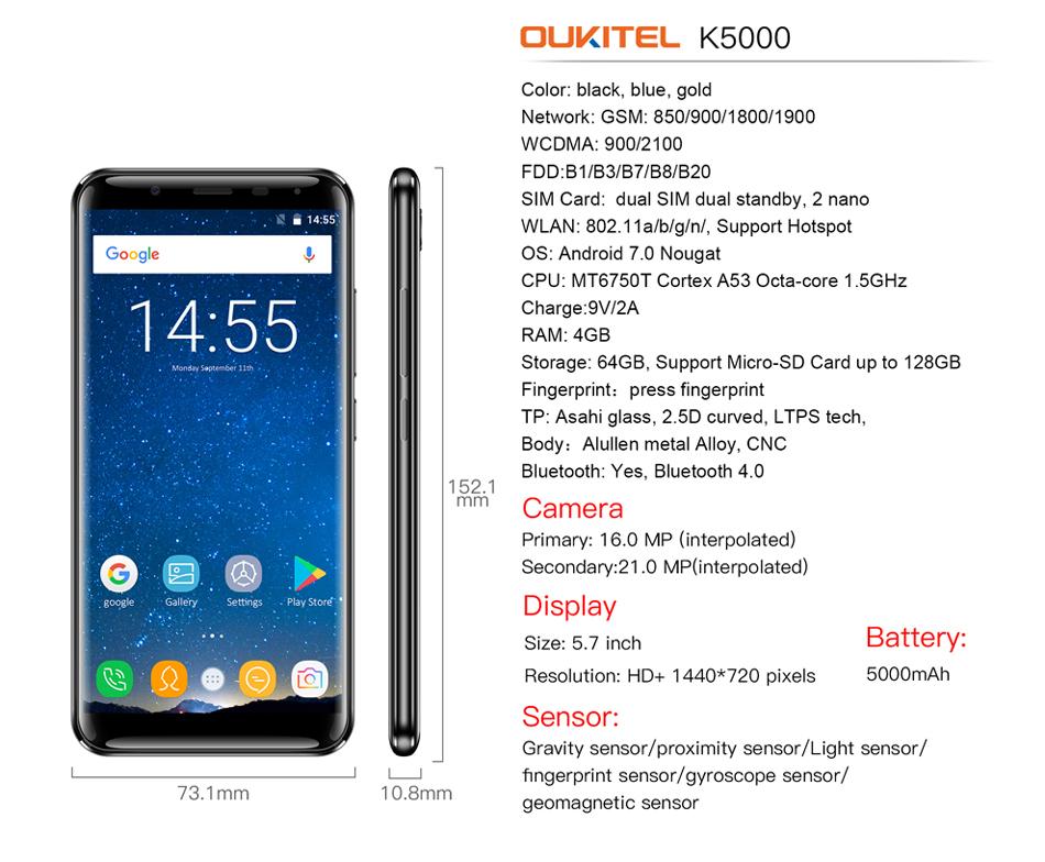 oukitel k5000 android (12)