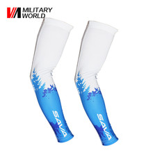 1 Pair Ciclismo Cycling Arm Sleeves Sun UV Bike Bicycle Running Armwarmers for Outdoor Games Sports Cycling Hiking(China)