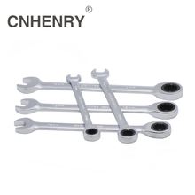 5pcs 8,10,12,13,14 Combination Ratchet Wrenches with Keys Gear Ring Reversible Wrench Car Auto Repair Hand Tool Diagnostic Tool(China)