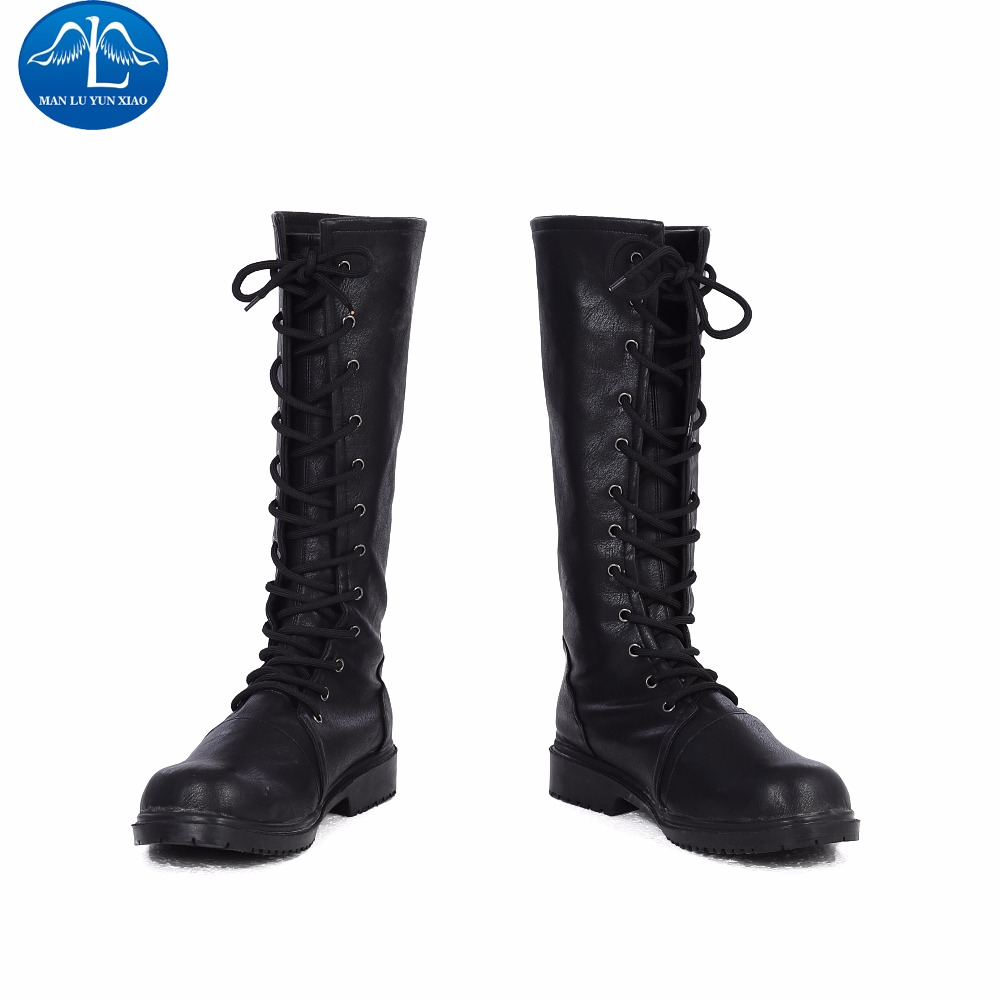 MANLUYUNXIAO New Arrival Fortress Night Women Game Character Cosplay Boots Women Cosplay Boots For Halloween