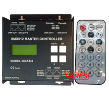 New DMX Master controller;DC12V input;1024 Channel Output DMX512 RGB RGBW Controller Multi-Functional LED Pixel Controller