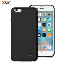 External Battery Charger Case for iPhone 6 6s 6Plus 2500/3700mAh Backup Pack Portable Power Bank Ultra Slim Charger Case Cover(China)
