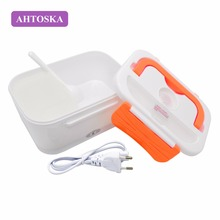 Buy AHTOSKA Electric Food Warmer 220V/12V Heating Lunch Box Double-Layer Heating Car Oven Convenient Rice Cooker for $16.49 in AliExpress store